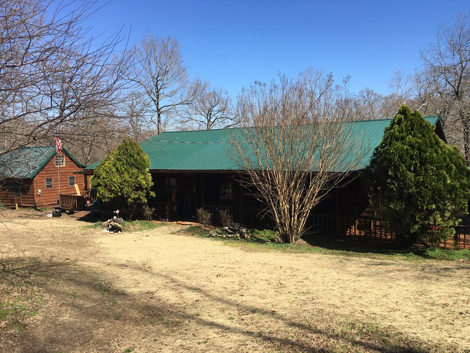 Arkansas Country Home, Cabin, Ranch, Sportsman's Paradise