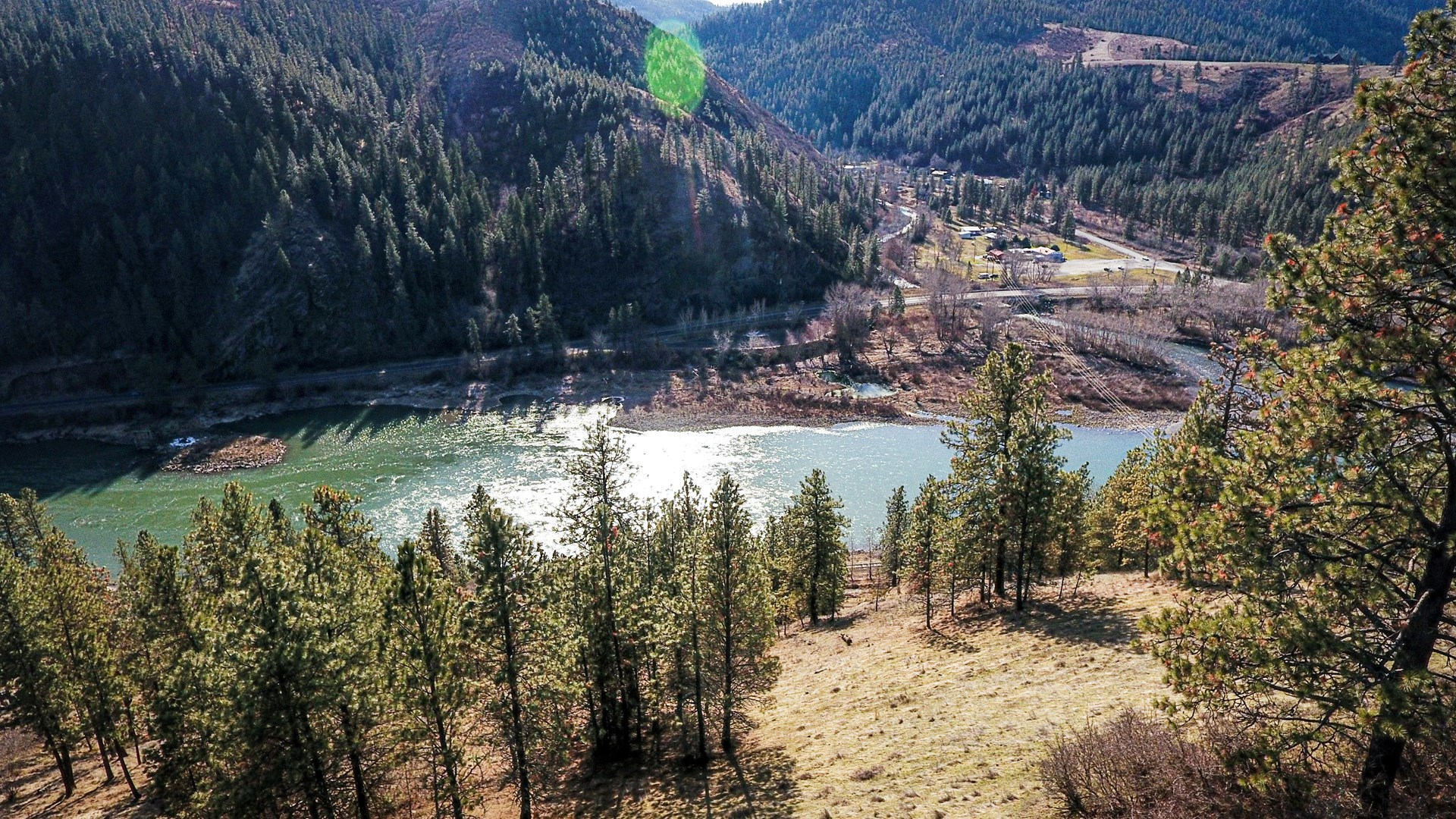 Recreational Lot along Clearwater River near Lenore, Idaho