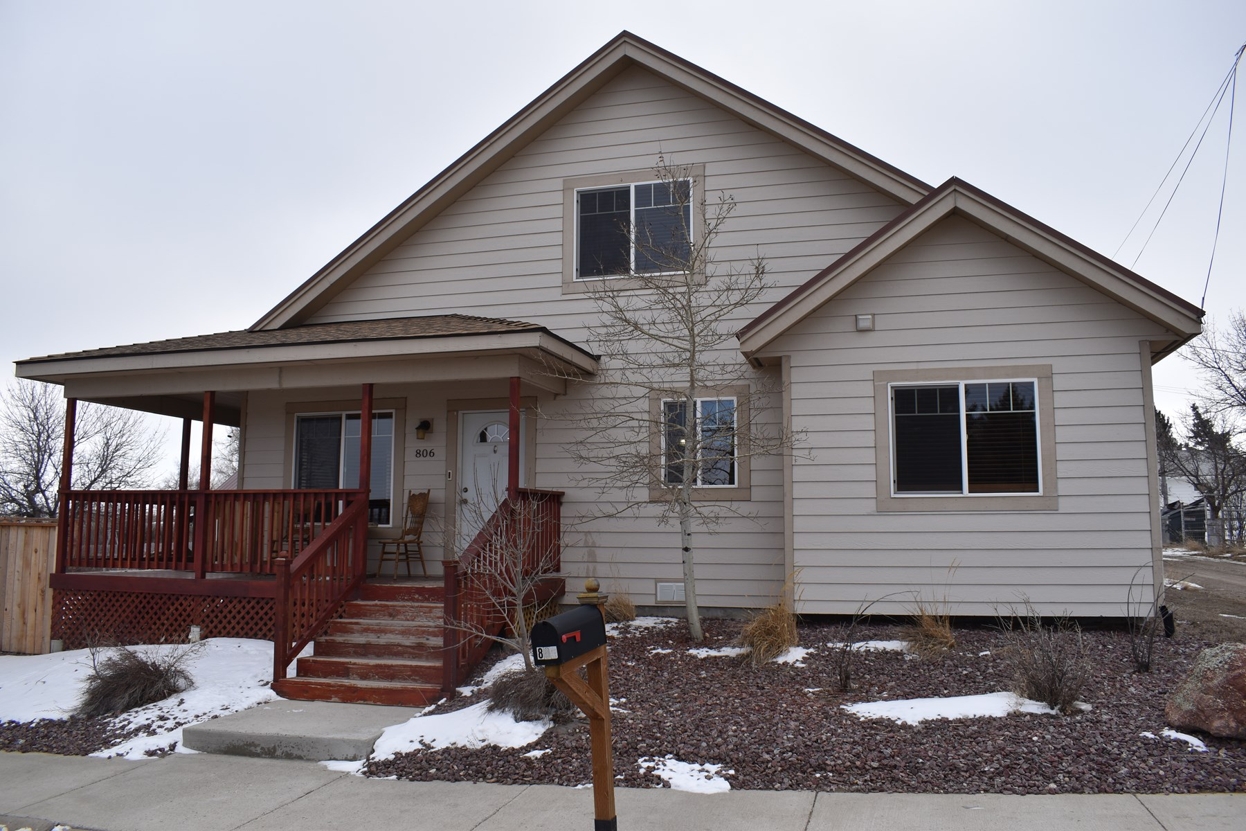 Newer home for sale in Shelby, MT