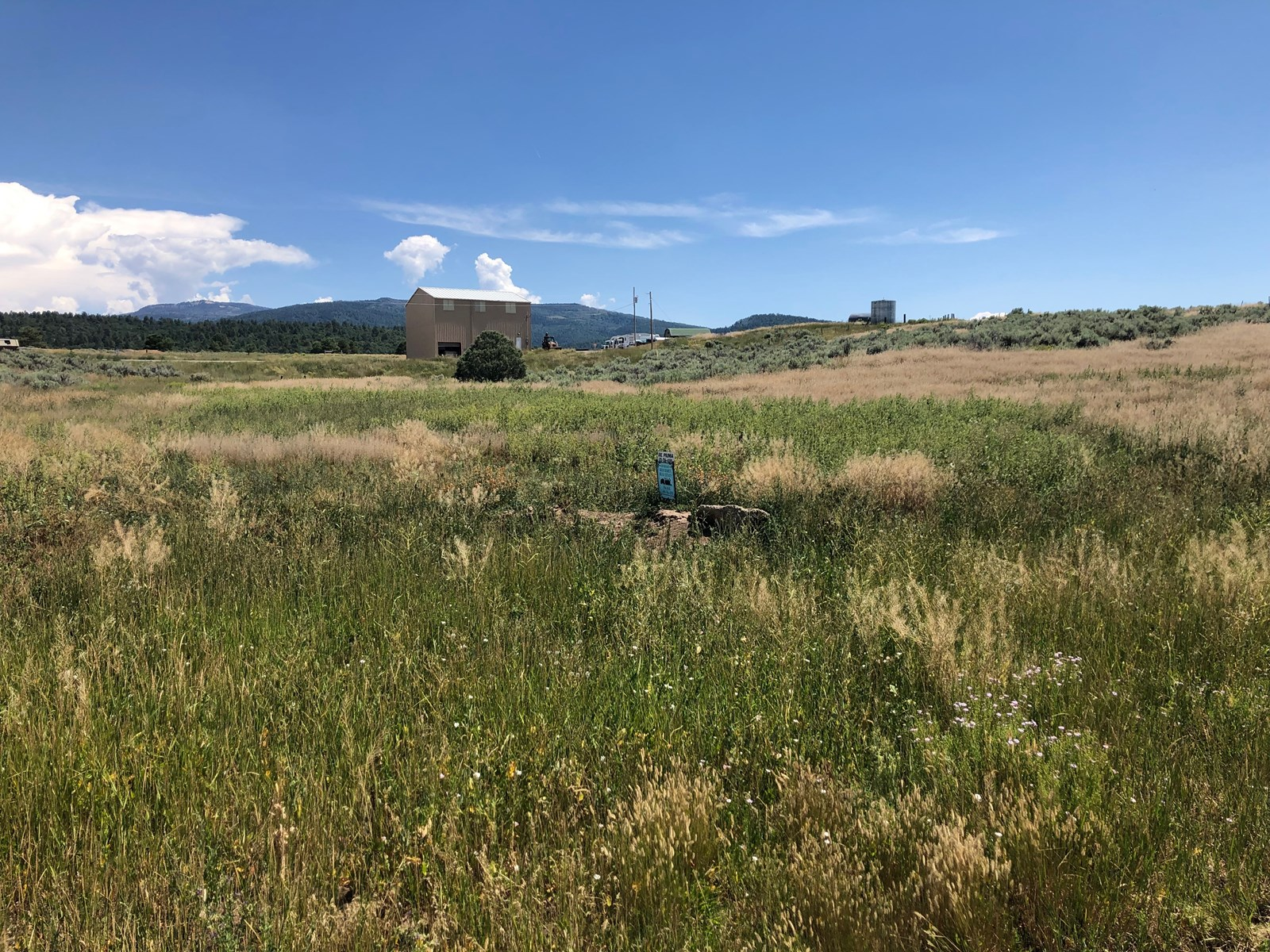 Land for sale downtown Tierra Amarilla, NM