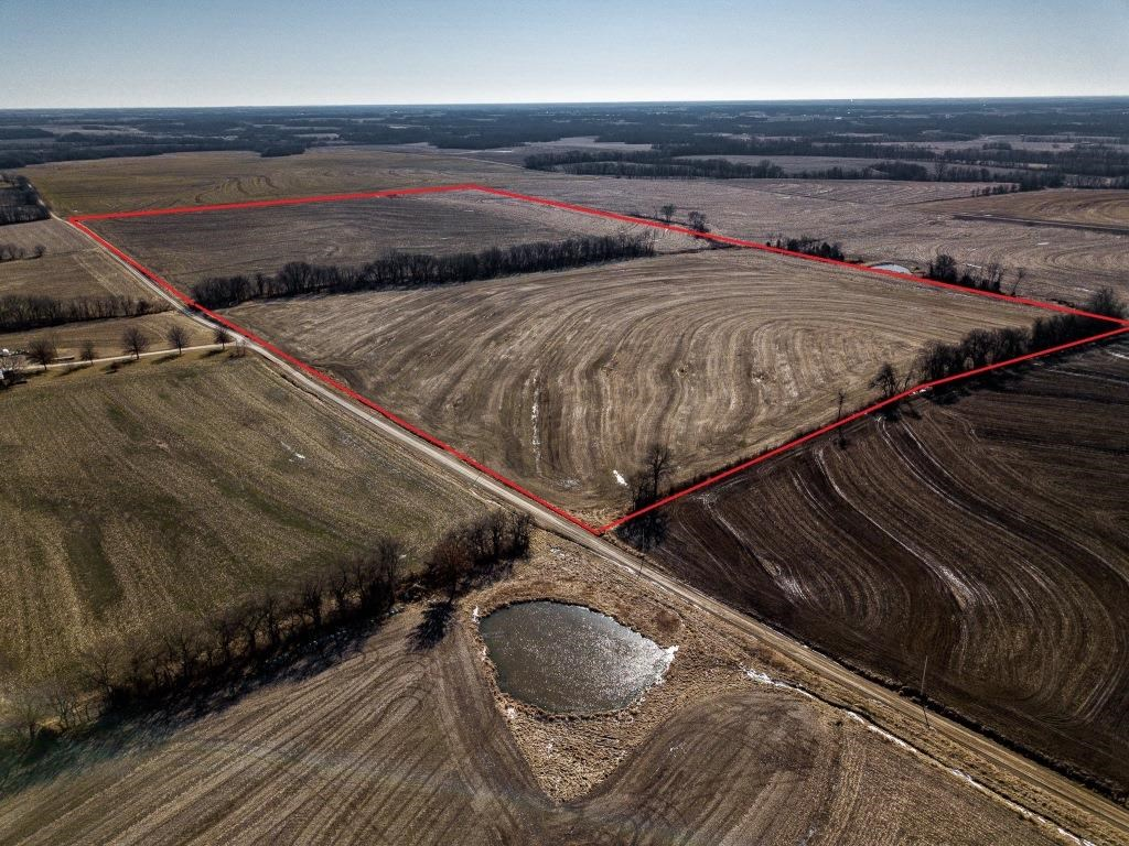 Highly Tillable Row Crop Farm Land Auction Saline County MO