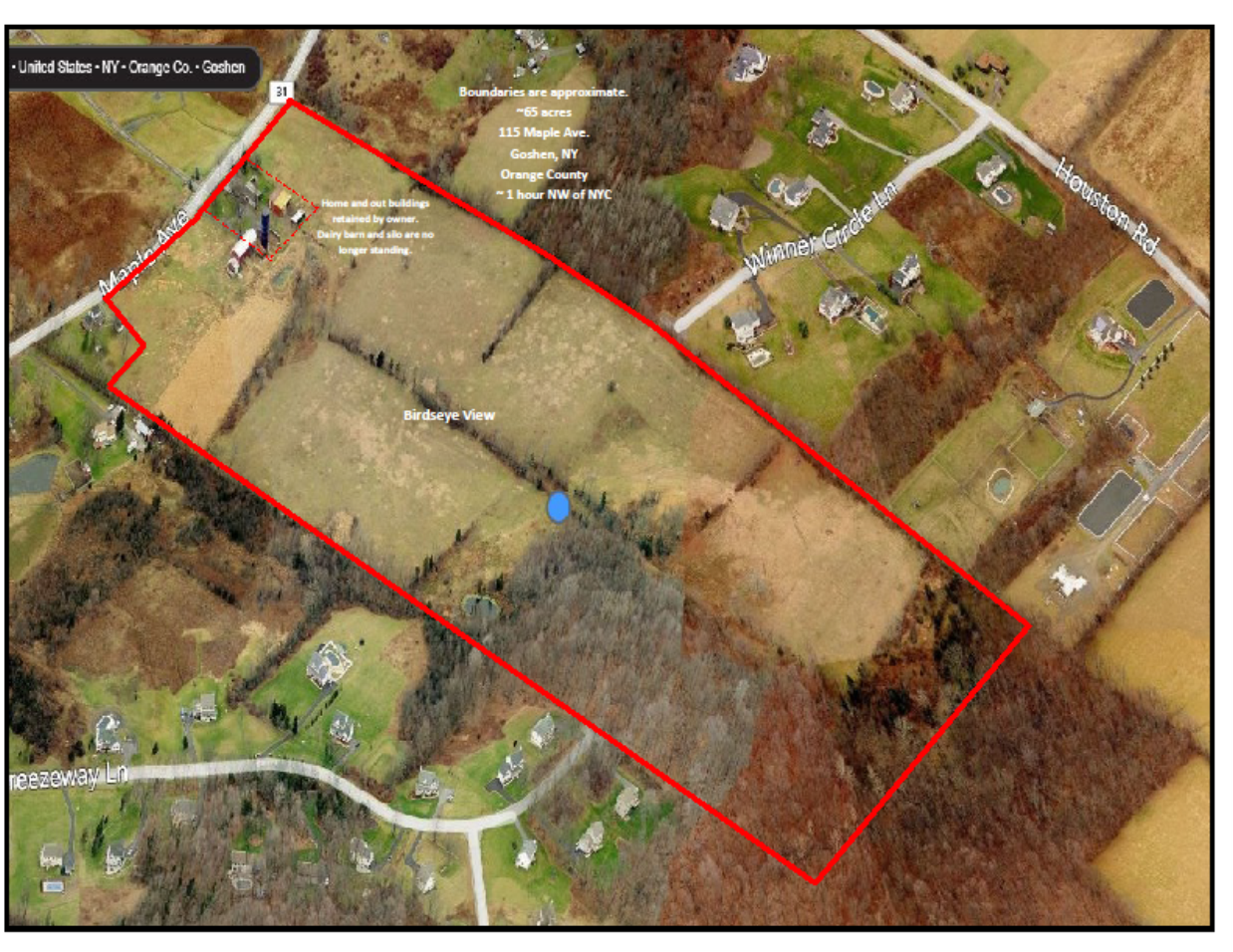Land For Sale 60 Miles Northwest of New York City