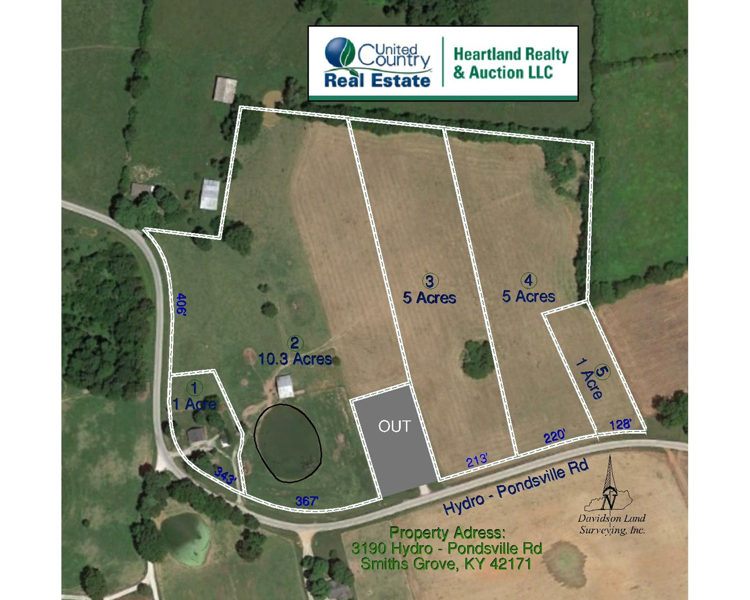 22 Acre Warren County Farm and Home For Sale at Auction