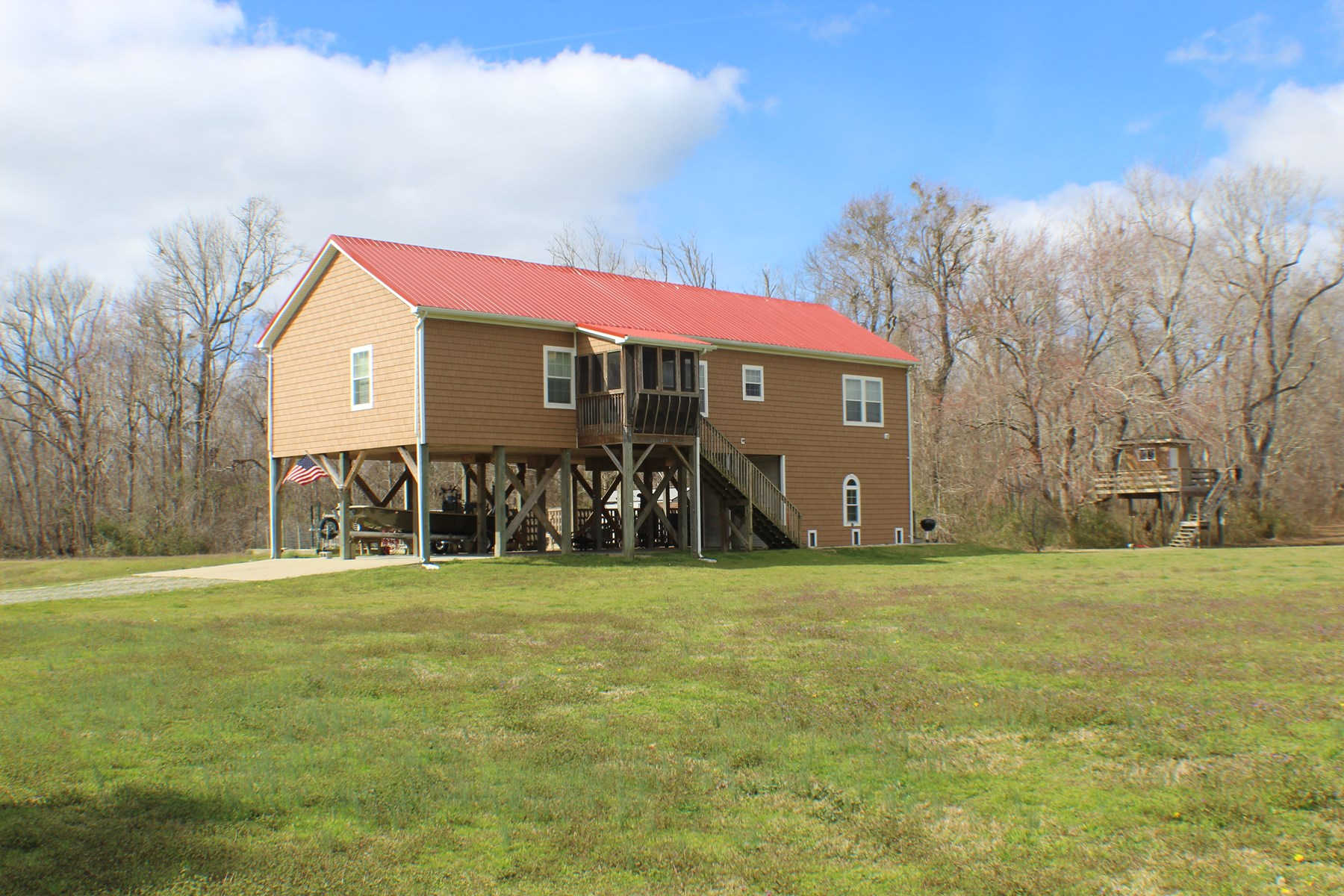 Country Home with Private Pond & Acreage!