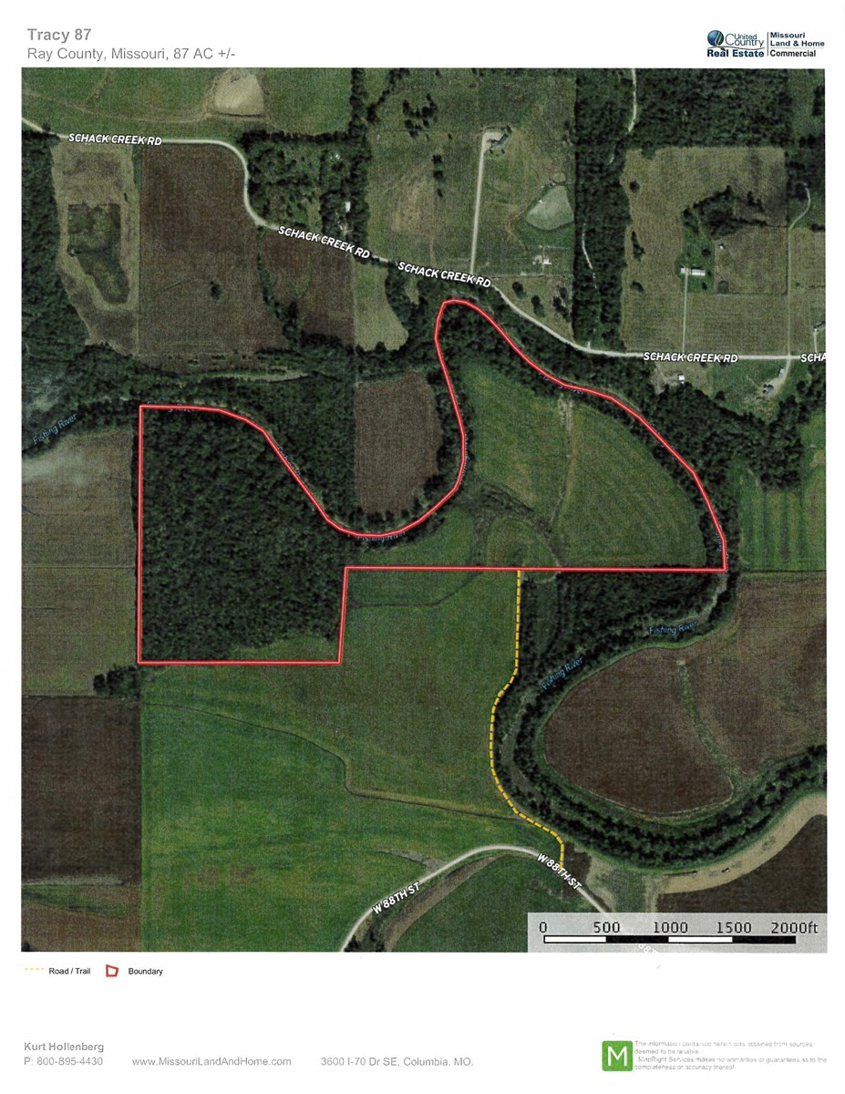 Ray County MO Hunting & Recreational Property with Income
