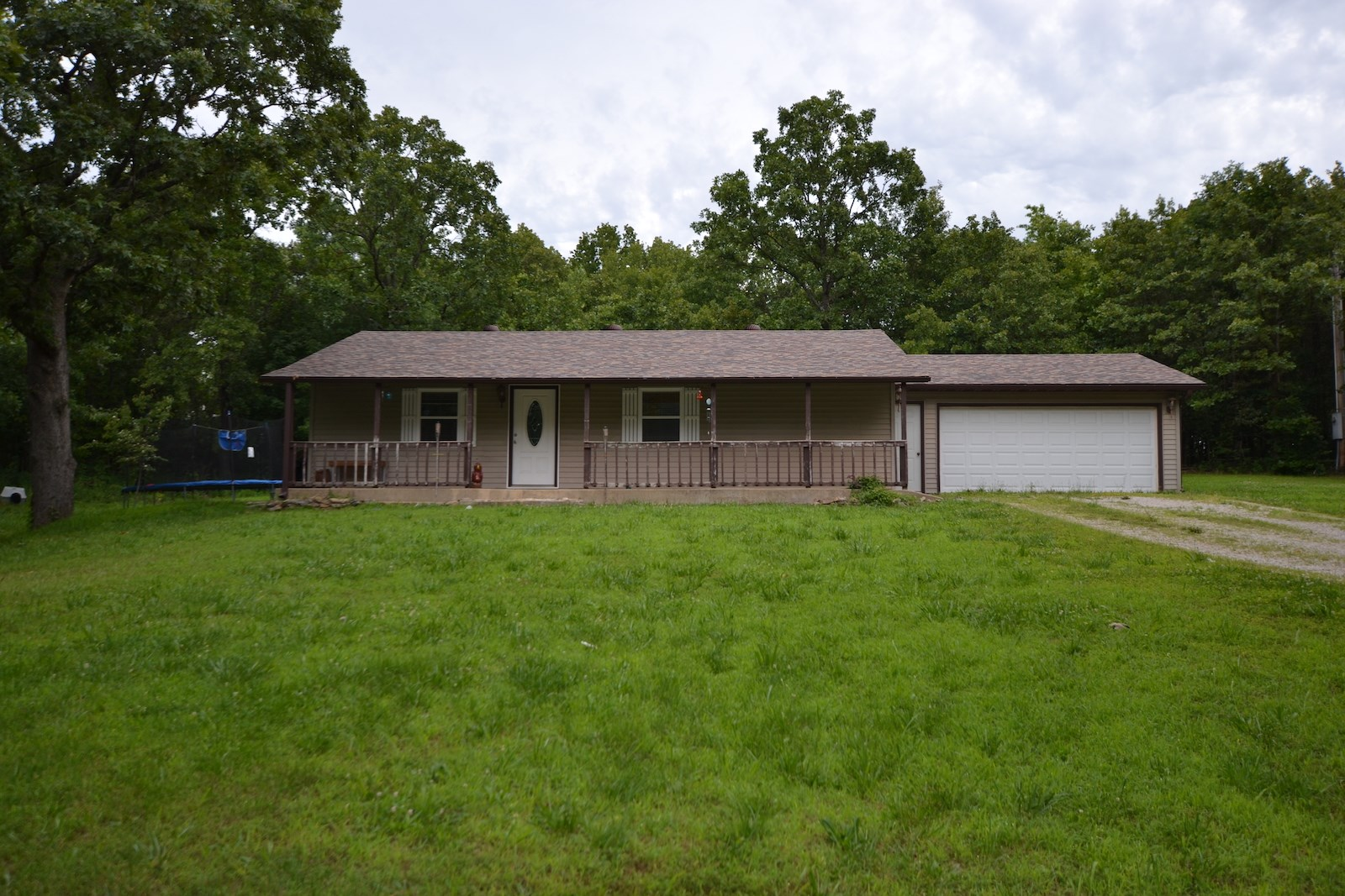 Home for Sale on Wooded Property