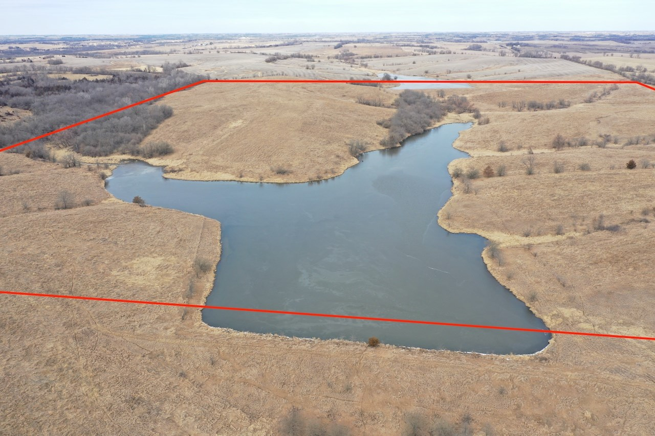 Land For Sale with CRP in Taylor County Southern Iowa