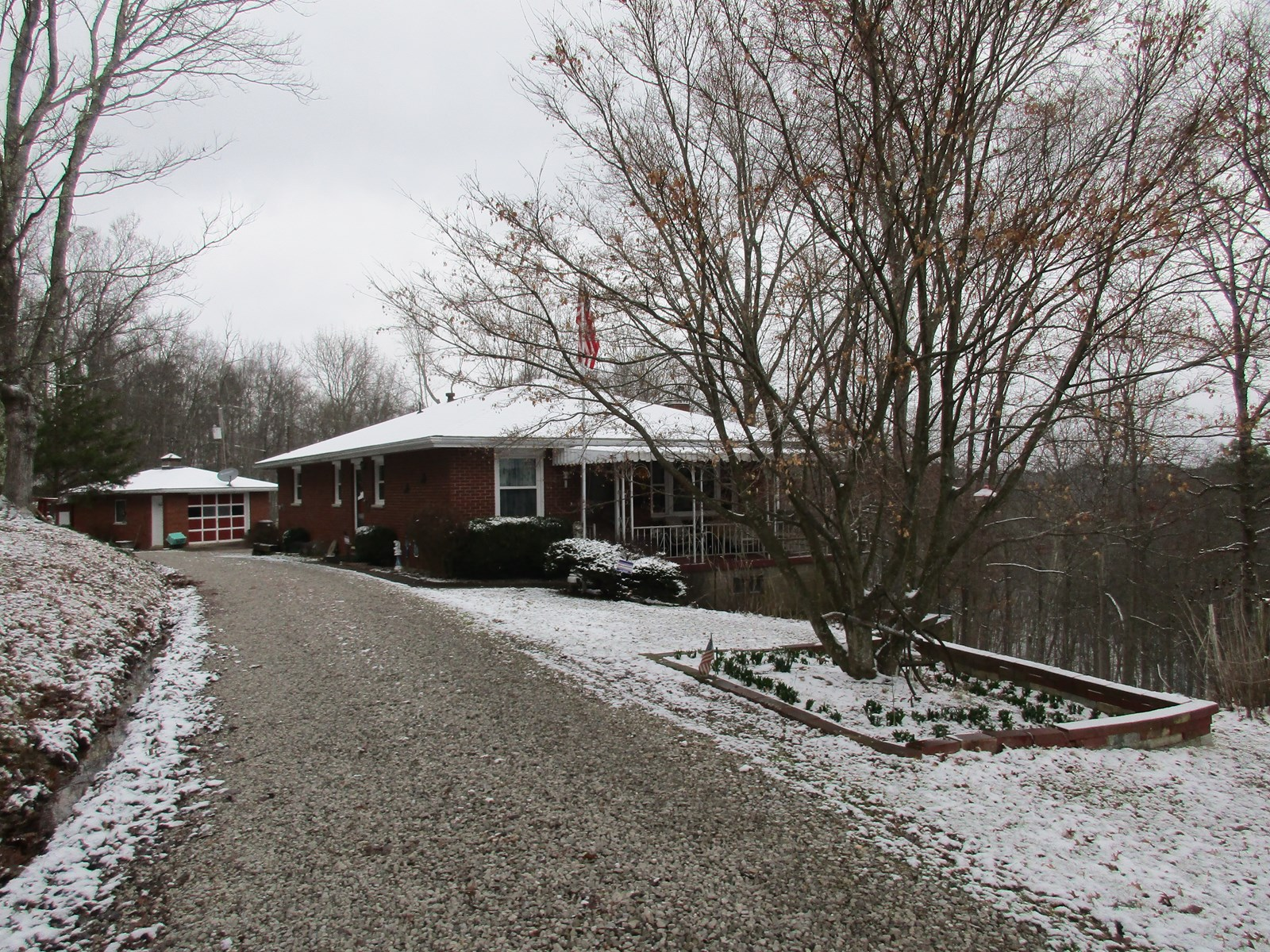 Ranch Style Home located Pleasants County WV