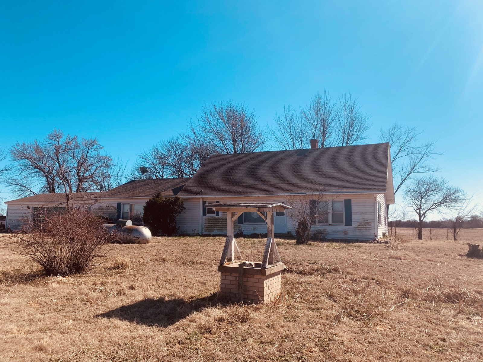 NORTH CENTRAL OKLAHOMA COUNTRY HOME FOR SALE TONKAWA LAMONT