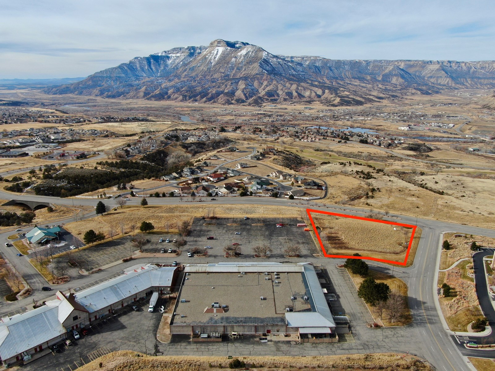Well located commercial lot in Battlement Mesa near clinic