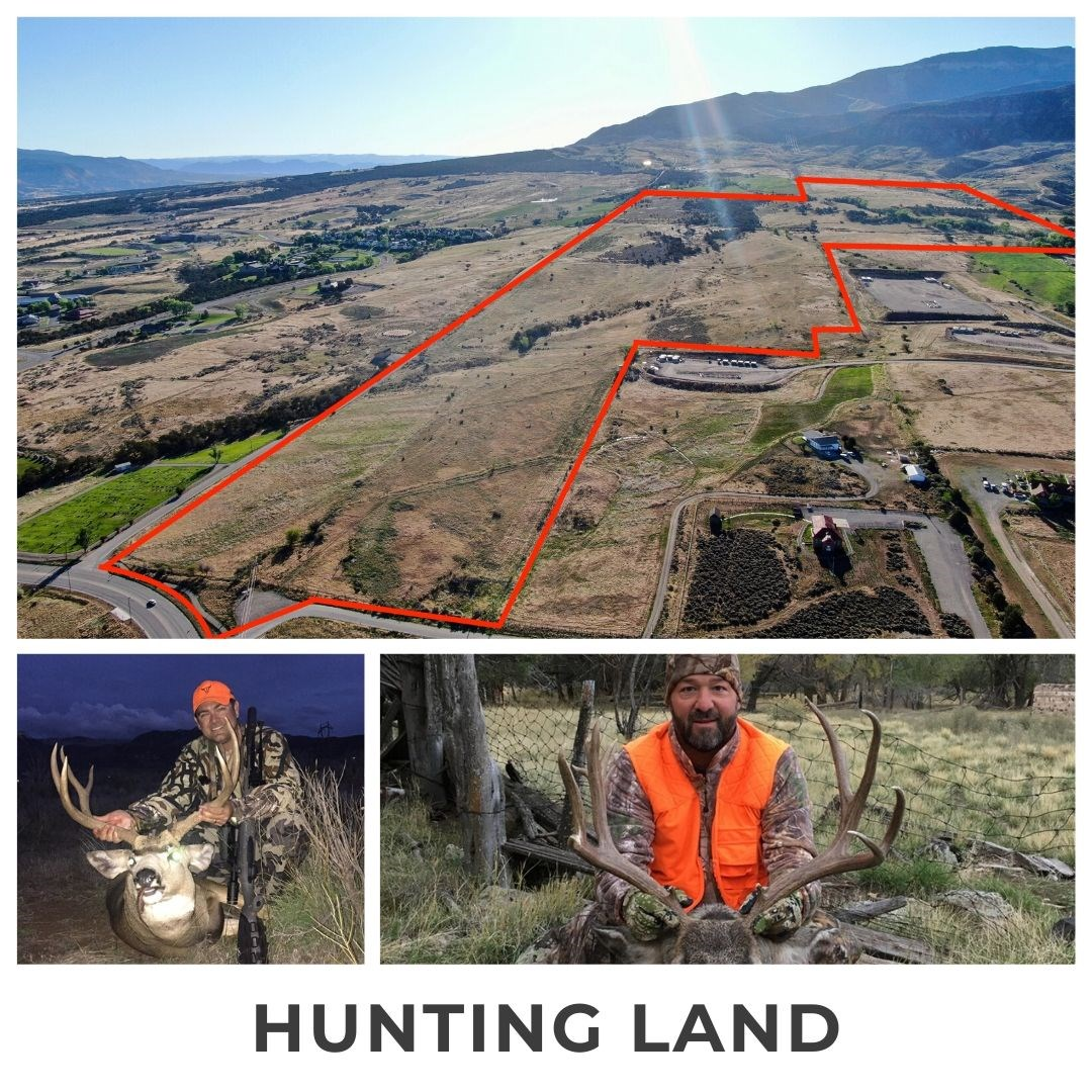 Trophy mule deer hunting, easy-access Colorado land for sale
