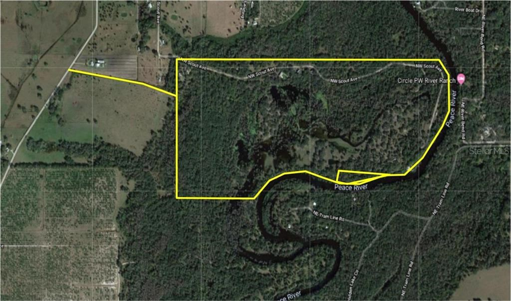 177 +/- Acres with waterfront on Peace River in Arcadia, FL!