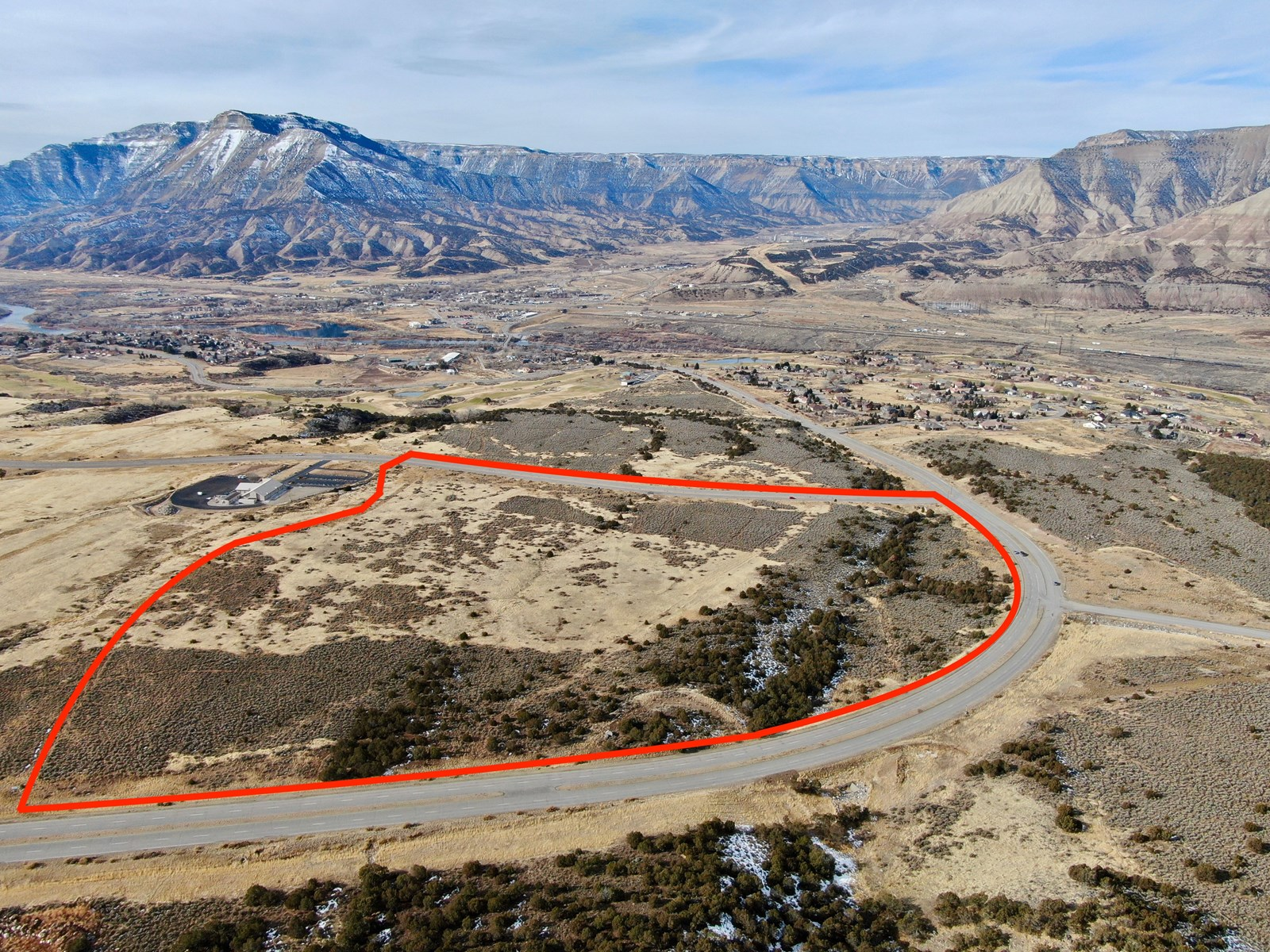 Development land for sale at auction--Battlement Mesa land