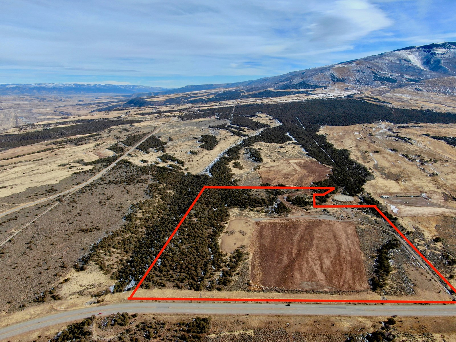 Old High School Hunting & Development Parcel For Sale