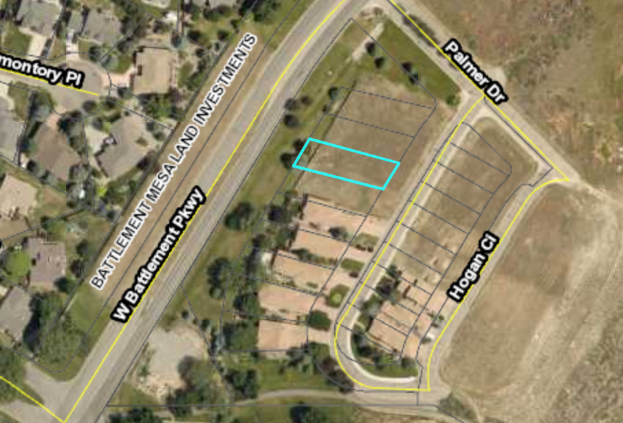 Building Lot For Sale, Battlement Mesa