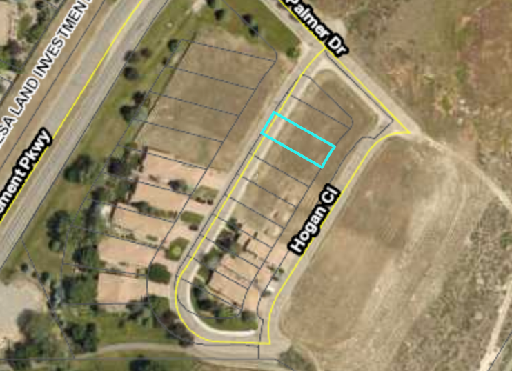 Hogan Circle Building Lot for Sale .166 Acre