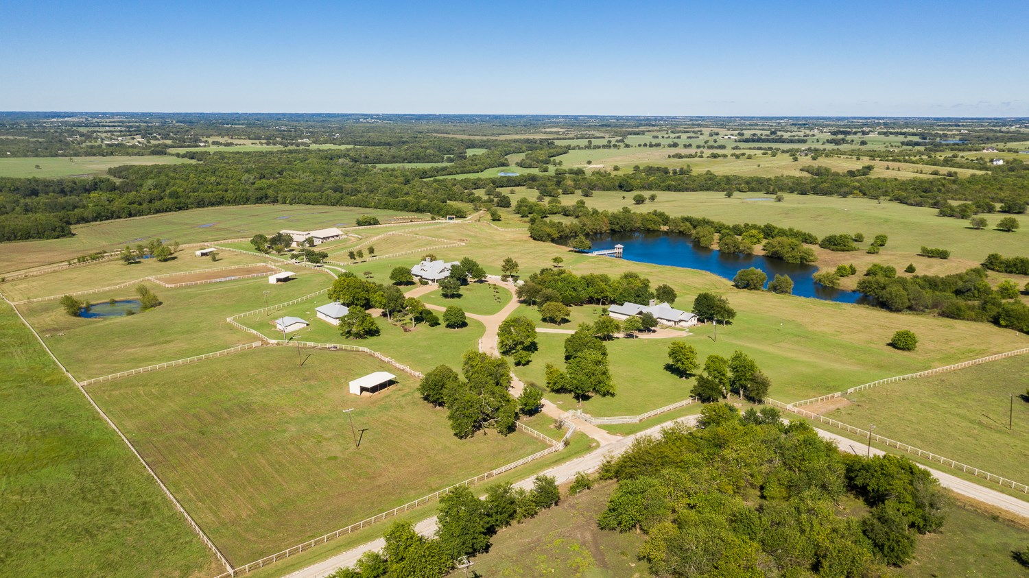 Texas Horse Property with Country Home for Sale in Collin Co