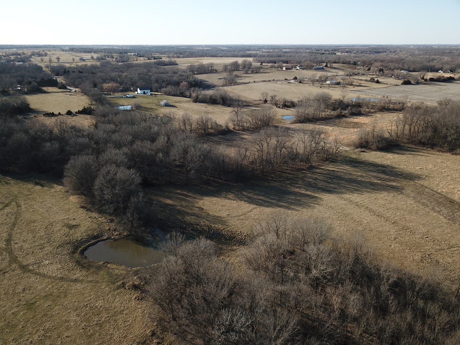 54.8 +/- acres of land for sale Cass County Mo Harrisonville