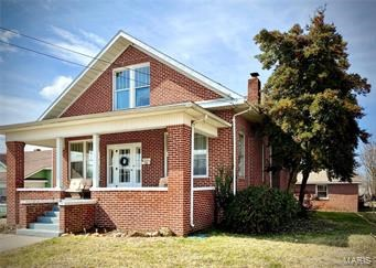 4-BR, 2-BA HISTORIC BRICK HOME: