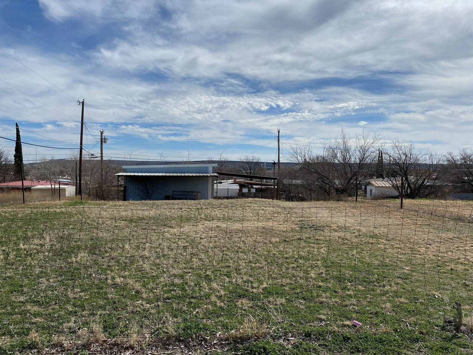 RESIDENTIAL LOT FOR SALE IN BIG SPRING