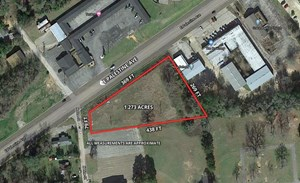 COMMERCIAL LOT FOR SALE IN PALESTINE TEXAS CITY LIMITS