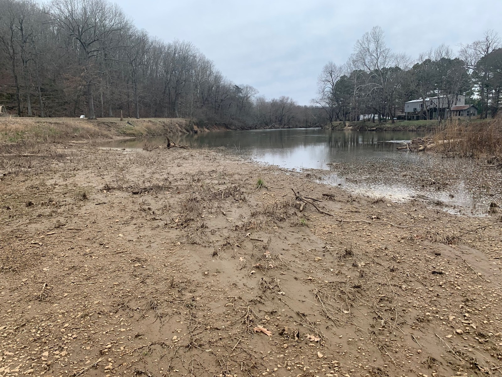 Eleven Point River Lot For Sale in Randolph County Arkansas