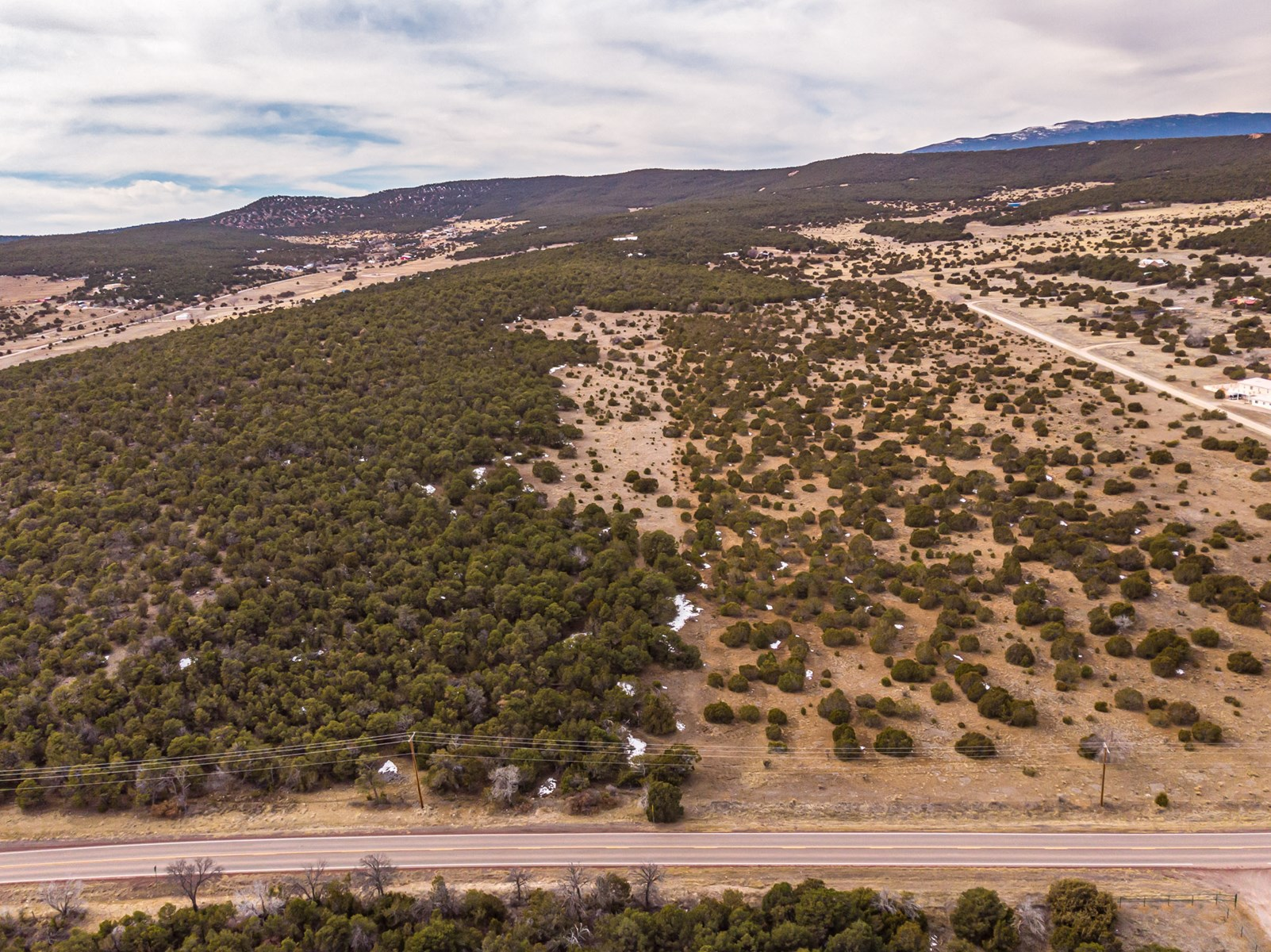 Edgewood, New Mexico 80 Acres Wooded with Metal Shop