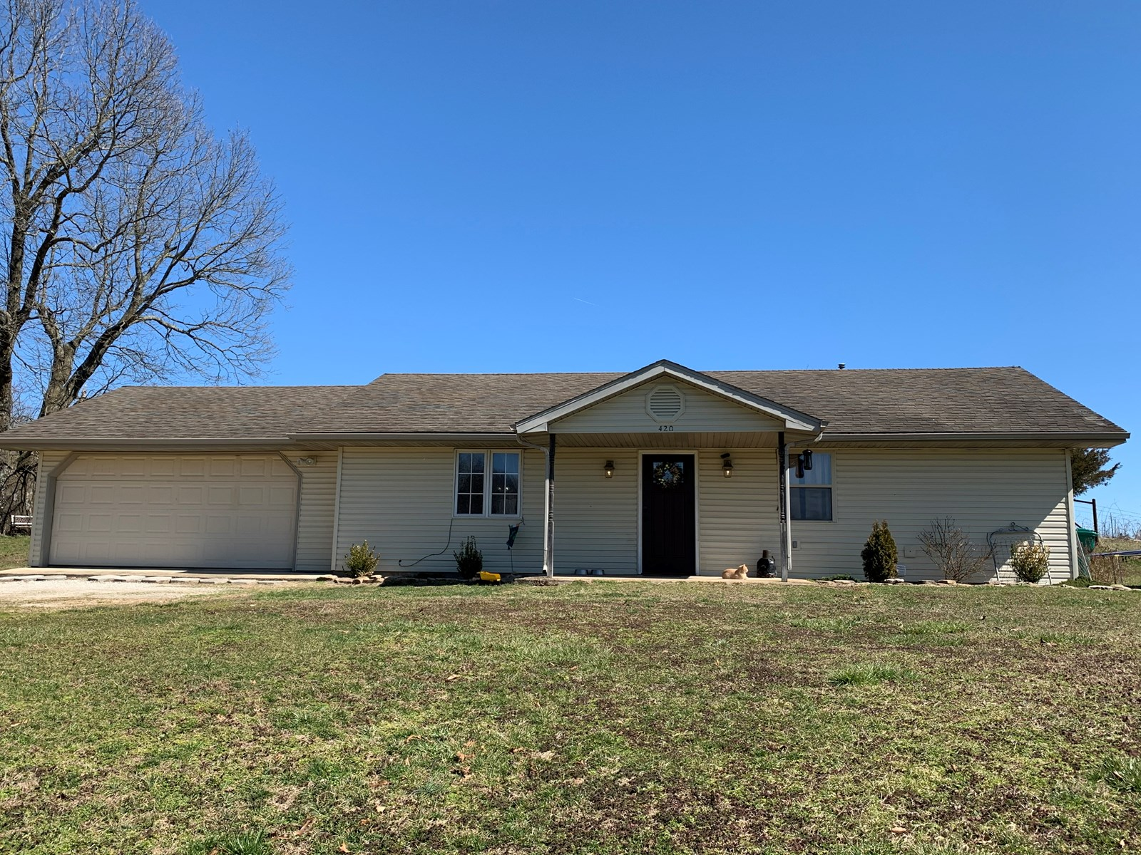 Ranch Home with Large Lot in Wright County MO