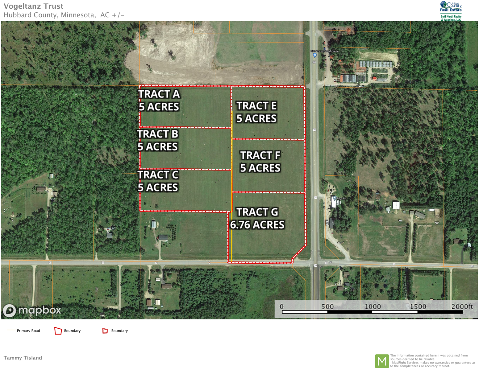 Commercial Land Lot Nary South Bemidji MN For Sale