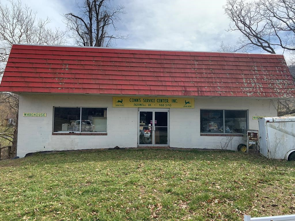 1.37 Acres 1500 sq ft Commercial Property Tazewell VA