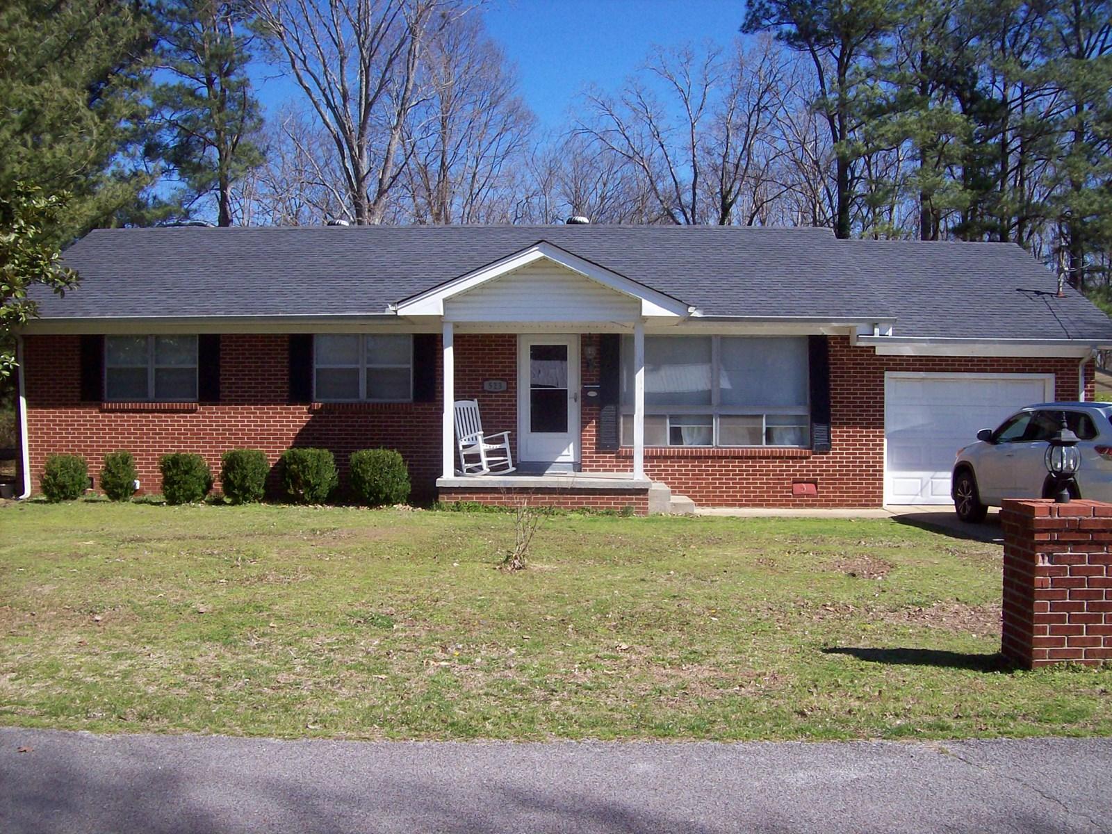Brick Home in Hohenwald, TN.
