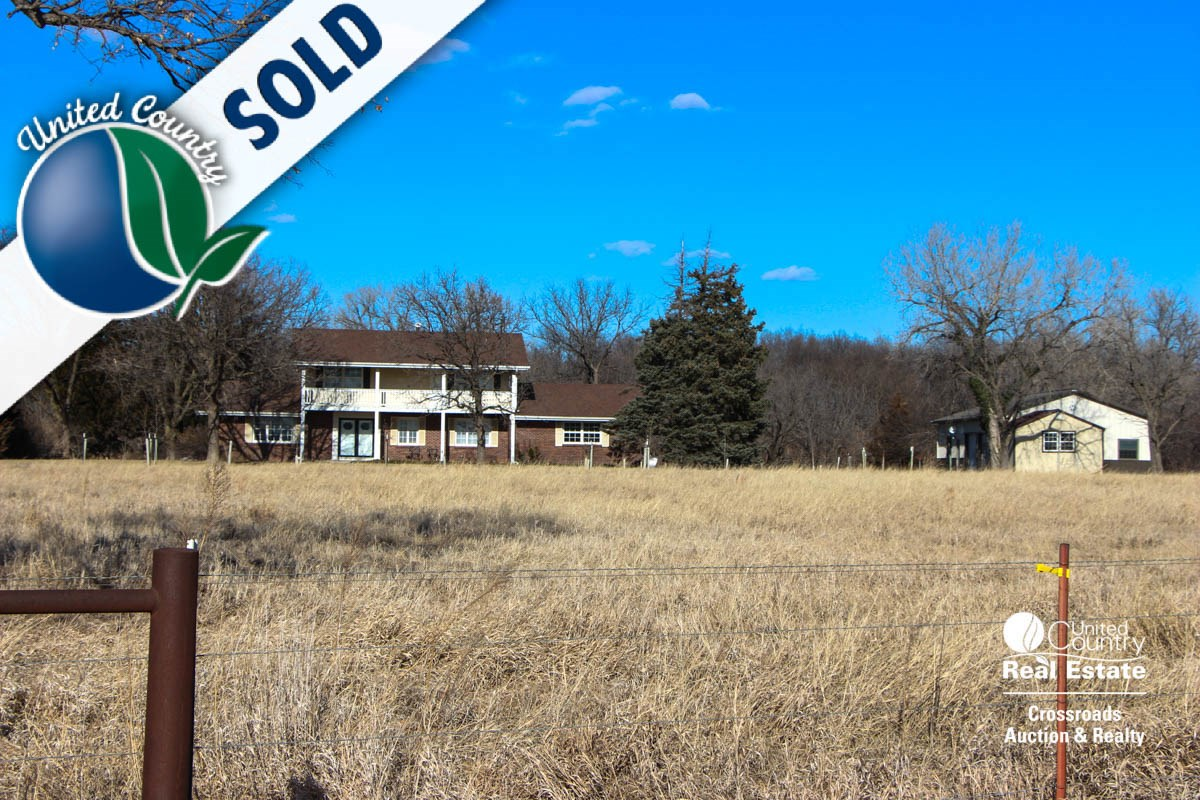 Country Home For Sale near Salina, Kansas Smoky Hill River
