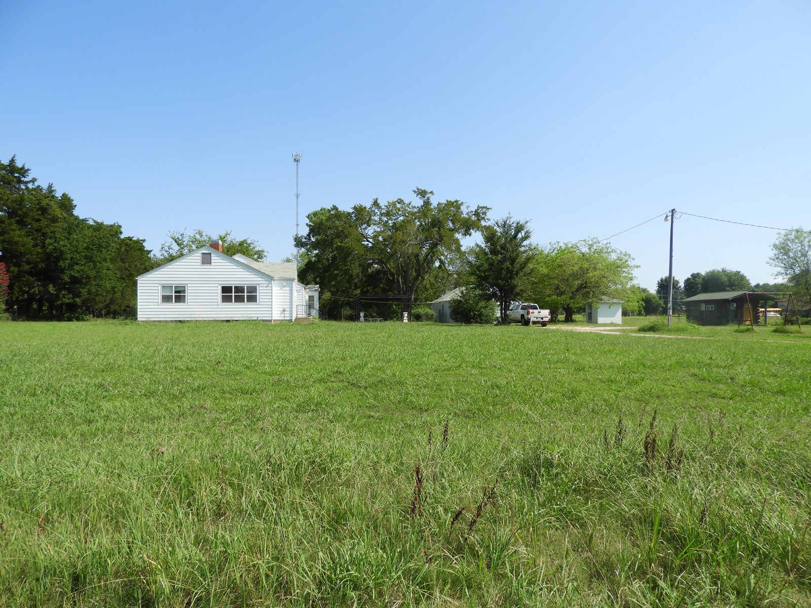 No Reserve Real Estate 7 ac on Hwy 3, Shawnee, OK Aug 23