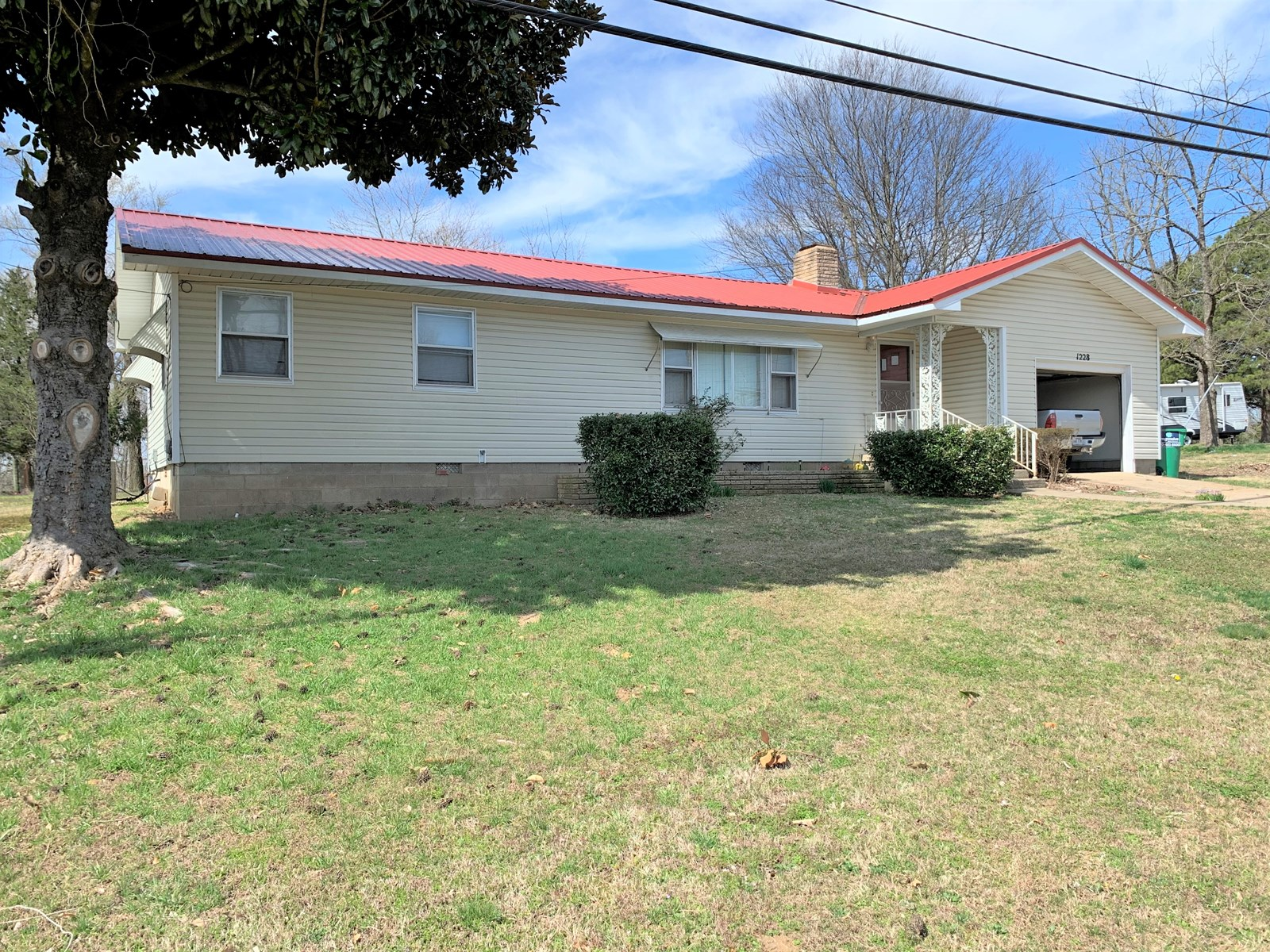 SPACIOUS HOME IN COUNTY SEAT TOWN