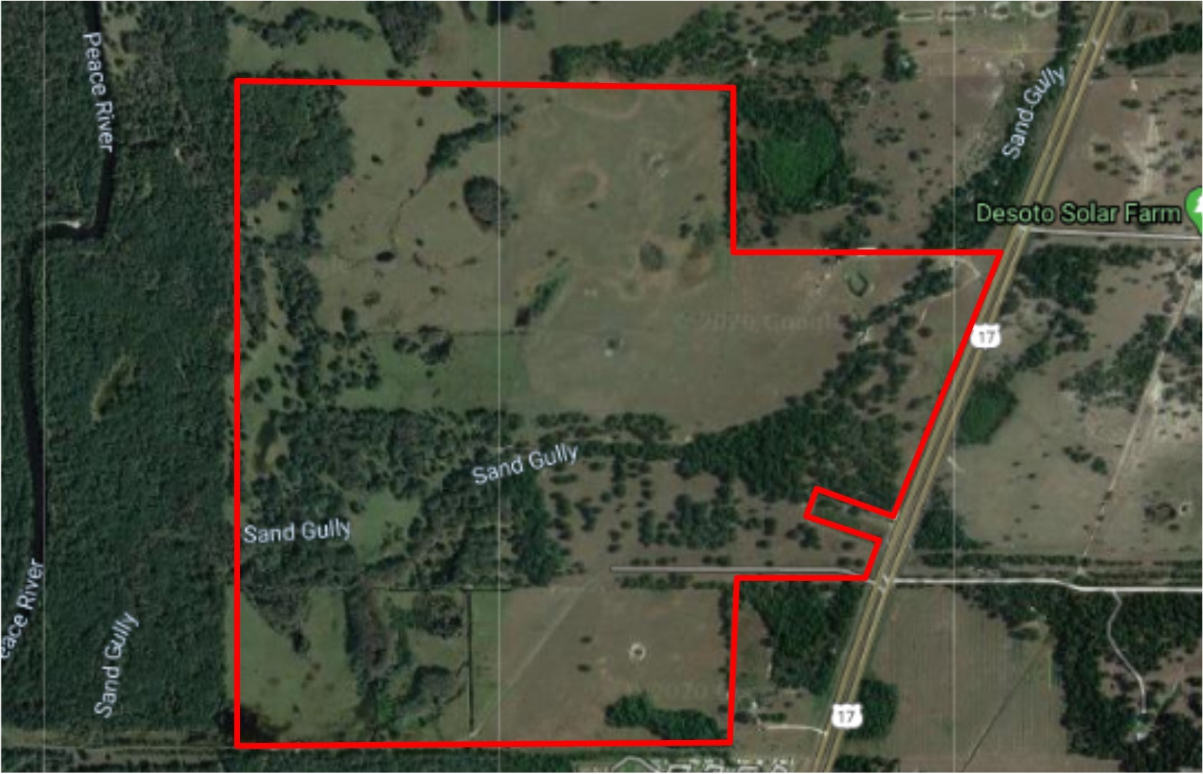 562 +/- ACRE RANCH IN DESOTO COUNTY!