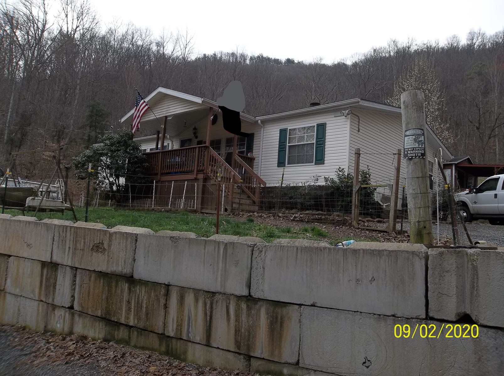 3 BR, 2 BA Home on 50 acres For Sale in Hawkins Co., TN
