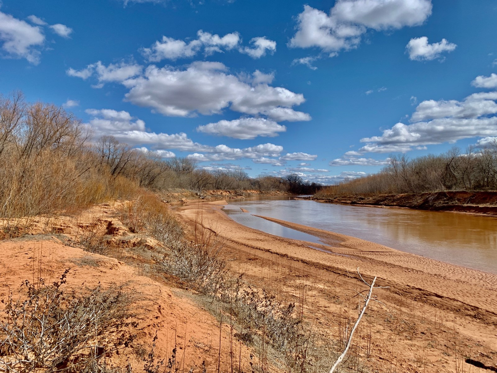 Hunting and Fishing Land on the Washita River in Garvin Co.