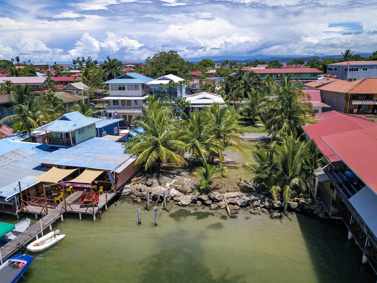 2 Titled Oceanfront City Lots, Bocas Del Toro, Panama