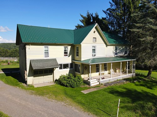 Beautiful Horse Property just outside of Norwich NY