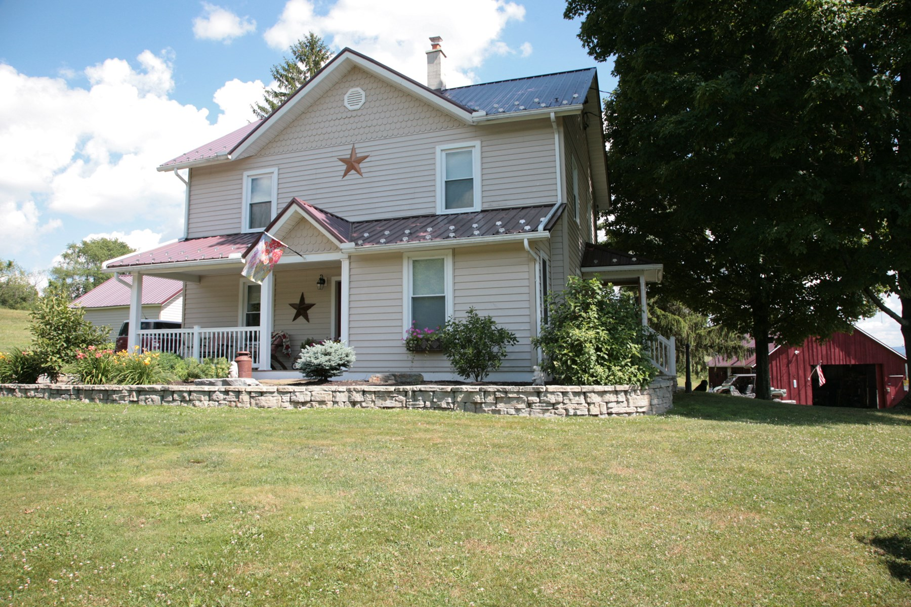BEEF CATTLE, HORSE & HAY FARM FOR SALE BRADFORD COUNTY, PA