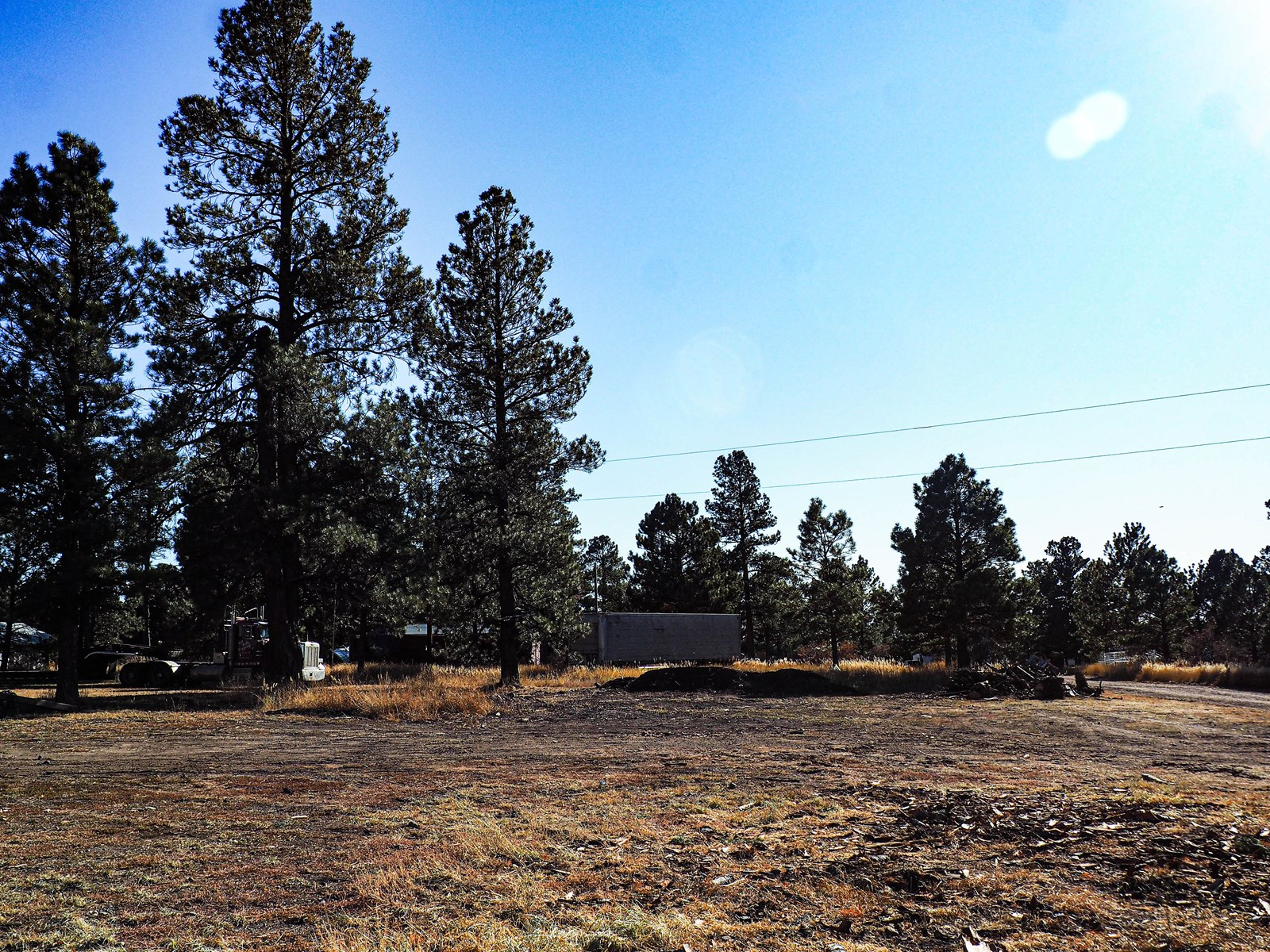 1.38 Acre lot in town with utilities and views!