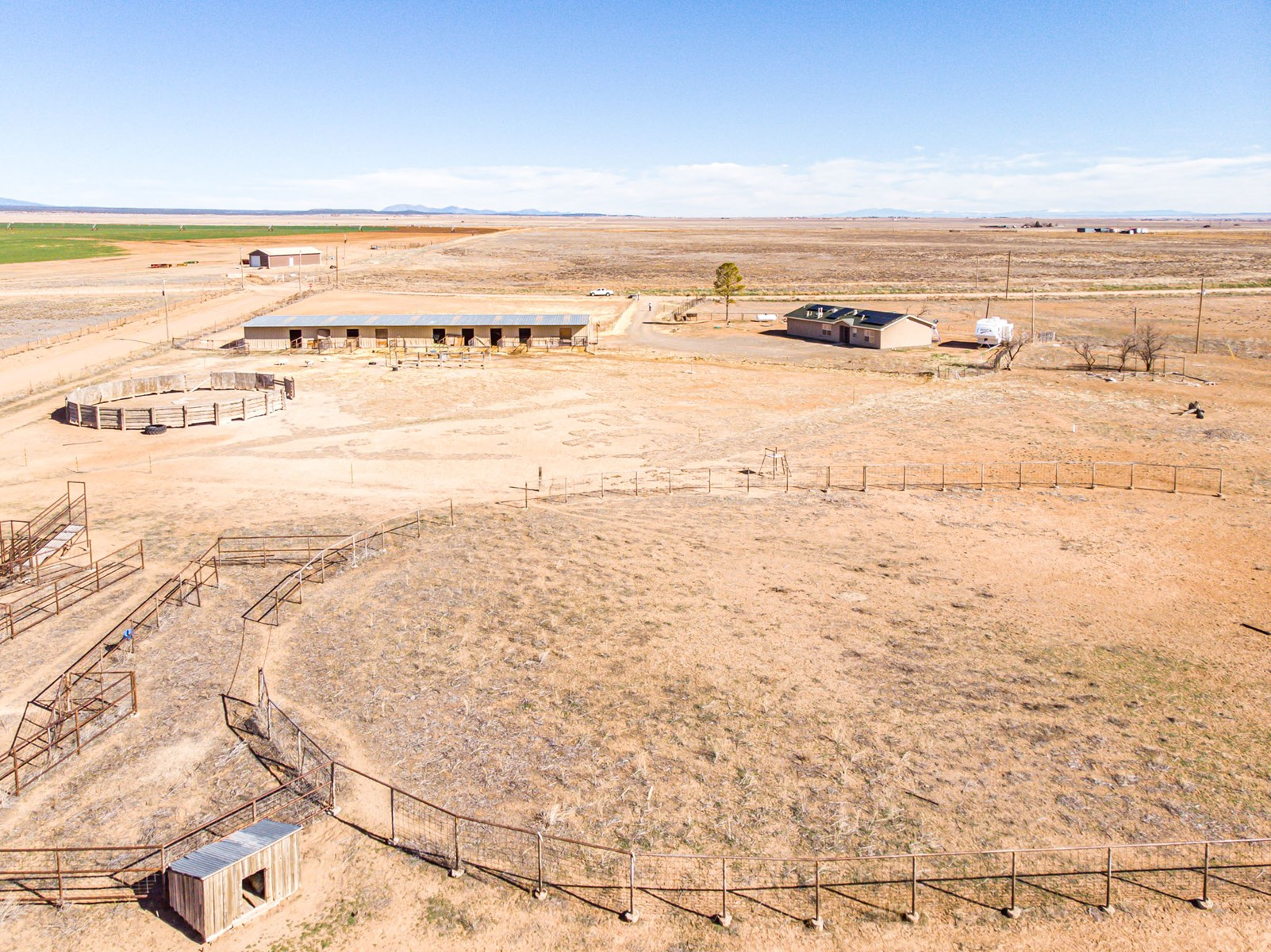 NM Equine 40 Ac with Home & 11 Stall Barn For Sale
