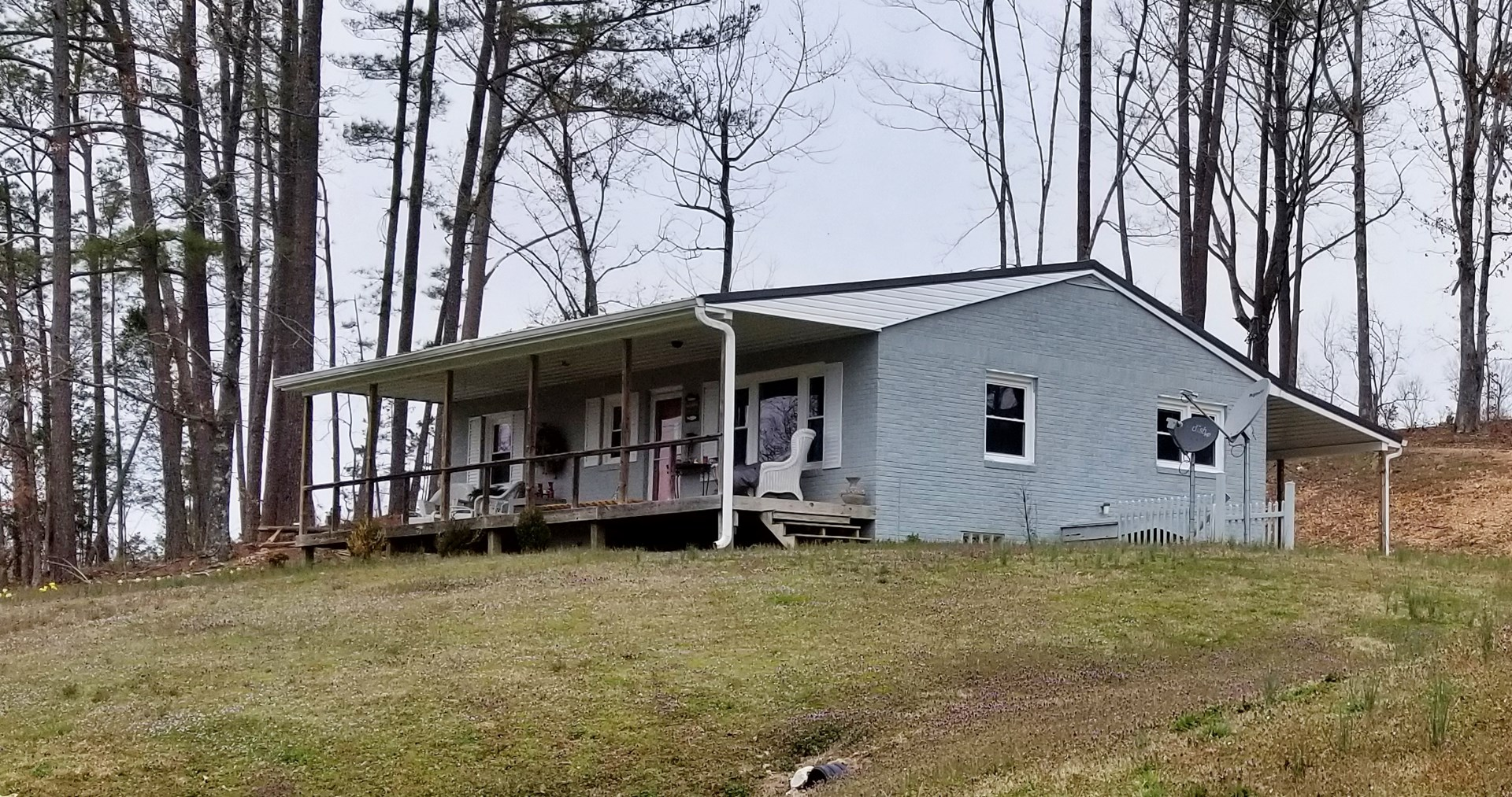 Recently Remodeled Home and 3.88 acres near TN river