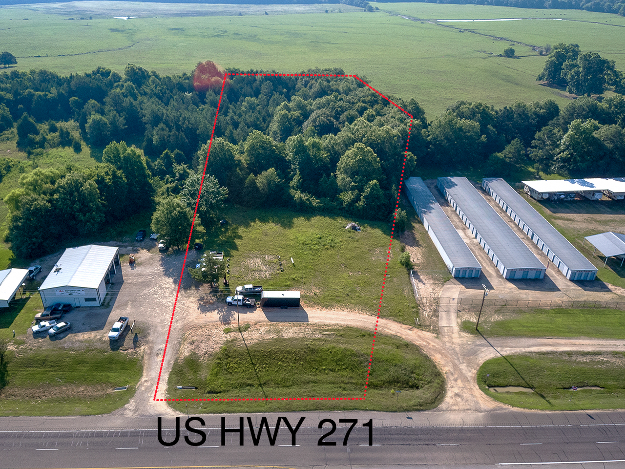 Commercial Development Land For Sale Powderly Texas