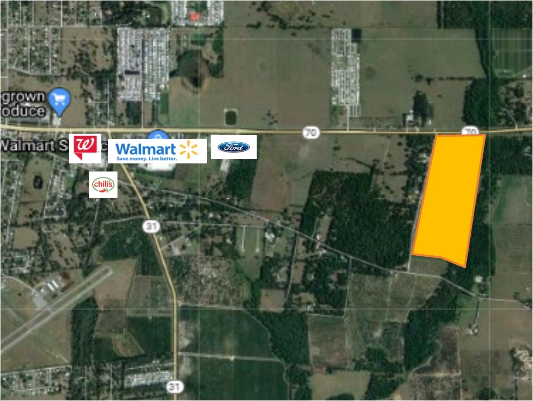 99 Acres with Hwy Frontage!
