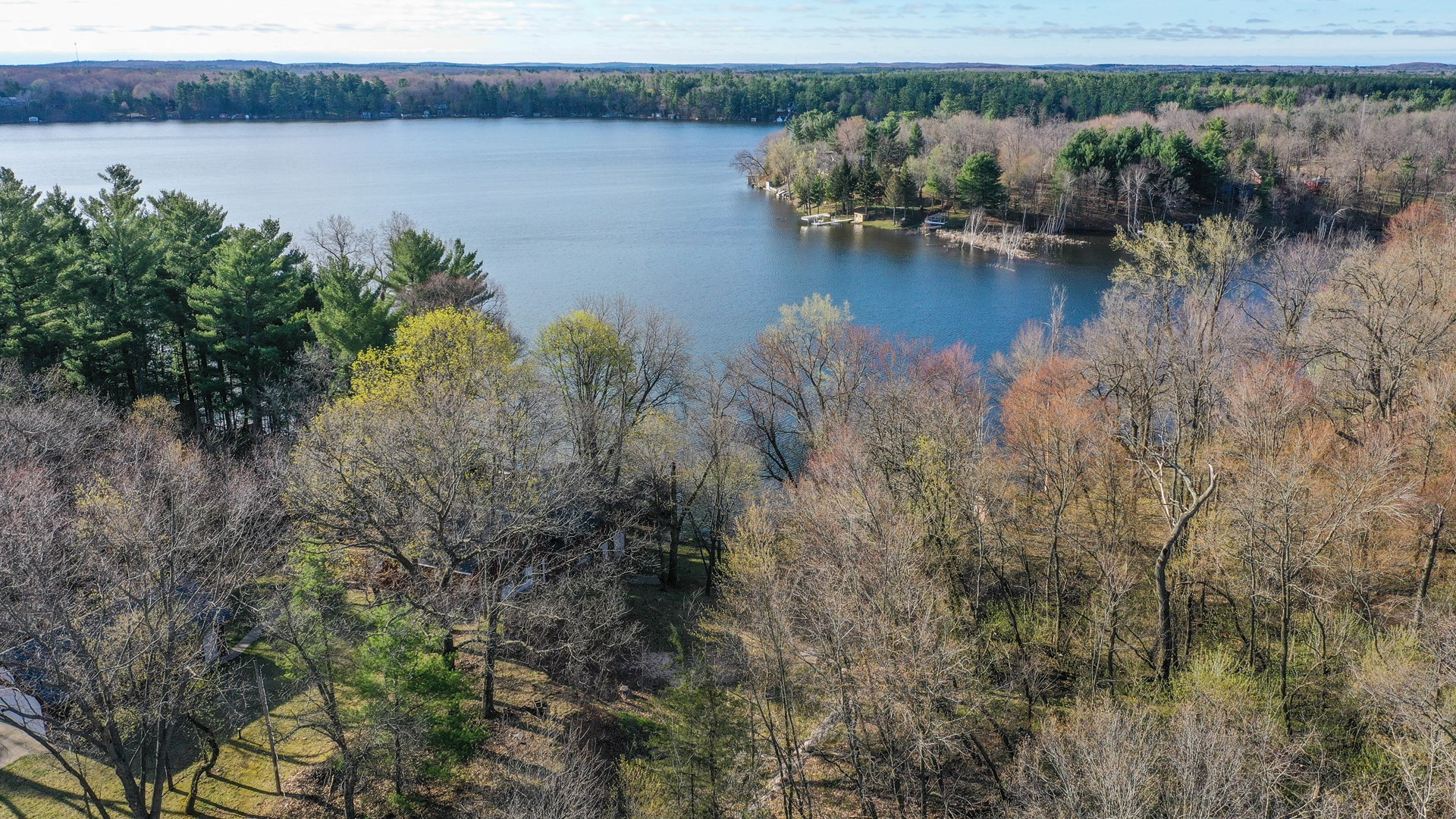 Land for sale on Long Lake, Waushara County WI