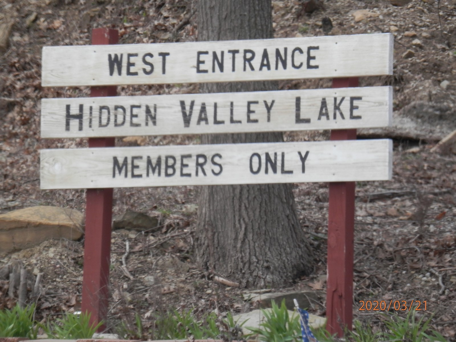 Lakefront lots at Hidden Valley Lake, Mapleton, KS