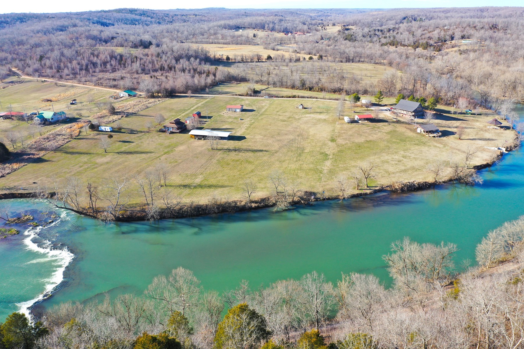 River Lot for Sale in Arkansas