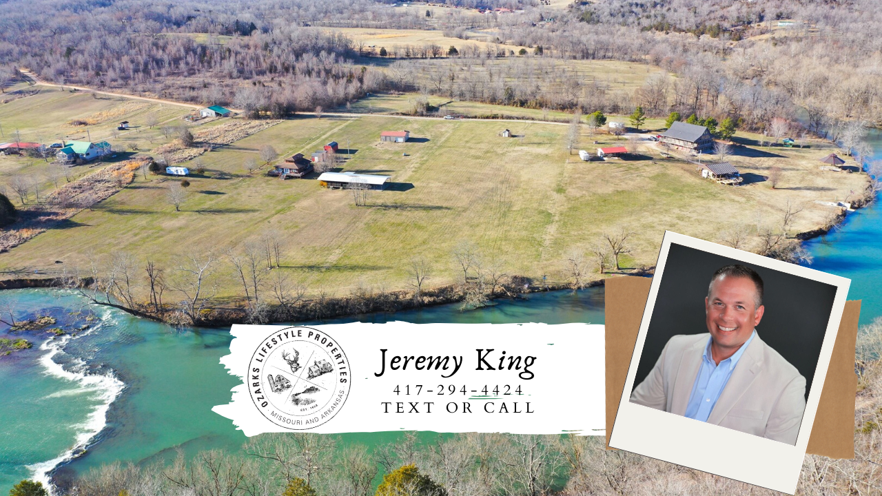 Spring River Lot for Sale in Arkansas
