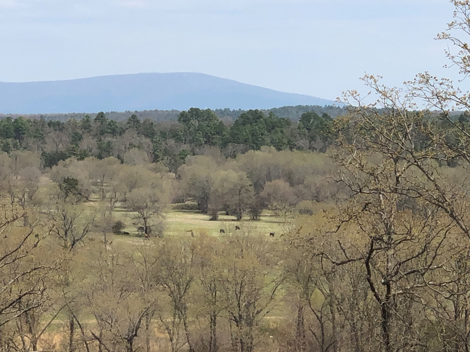 OKLAHOMA  RANCH FOR SALE 2 LEFLORE COUNTY, NEAR WISTER LAKE